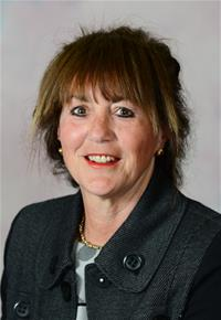 County Councillor Joan Burrows