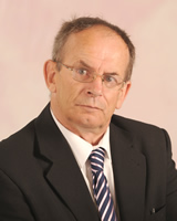 County Councillor Malcolm Pritchard