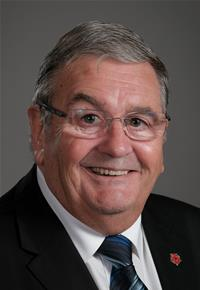 County Councillor Barrie Yates