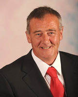 County Councillor Terry Brown