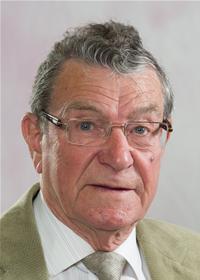 County Councillor Ron Shewan